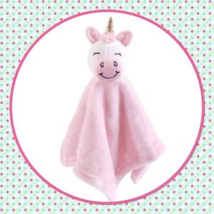 🦄New🦄 Unicorn Plush Security Blanket Soothes 🦄